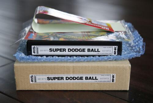 Super Dodge Ball US English MVS Kit • Neo Geo JAMMA Arcade System • SNK Technos