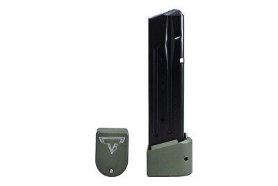 Taran Tactical Base Pad for Sig Sauer P320 9/40 +5 Base Pad