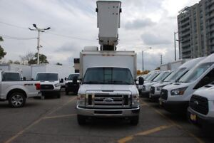 2013 Ford E350 BUCKET TRUCK, 1 Ton