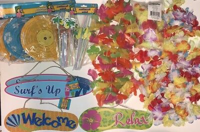 Luau Summer Lei Barbecue Party Decorations (Barbecue Decorations)