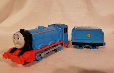 Fisher price Thomas Friends Trackmaster Gordon Train Comes w Battries VGUC d2