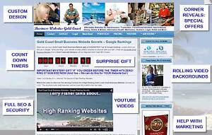 WEBSITE DESIGN, CUSTOM LOOK, YOUTUBE VIDEO, SEO, MOBILE FRIENDLY Gold Coast Region Preview