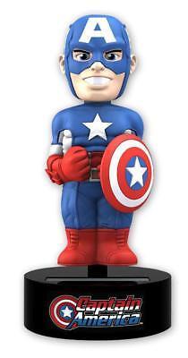 Marvel Comics Body Knocker Captain America - Wackelfigur solarbetrieben 15cm OVP
