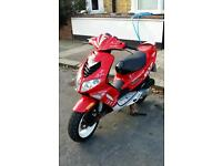 Peugeot speedfight 100cc scooter 2t great runner smaller than 125