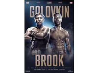 Golovkin v Brook tickets
