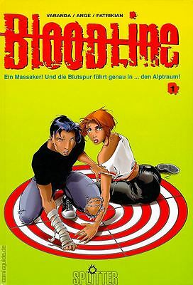 Bloodline 1, 2, 3, 4 Splitter & Kult, Comics Top Zustand