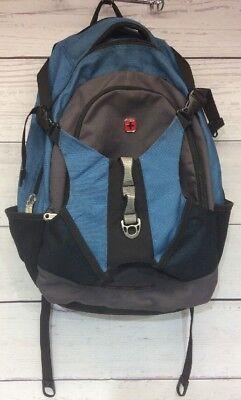 Wenger Backpack Multipocket With Media Pocket Blue Gray