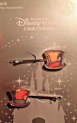 Alice In Wonderland Accessories (Disney Hair Accessories Alice In Wonderland Mad Hatter Bobby Pins New on)