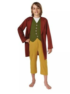 The Hobbit Bilbo Baggins Boy 8 Medium Halloween Costume
