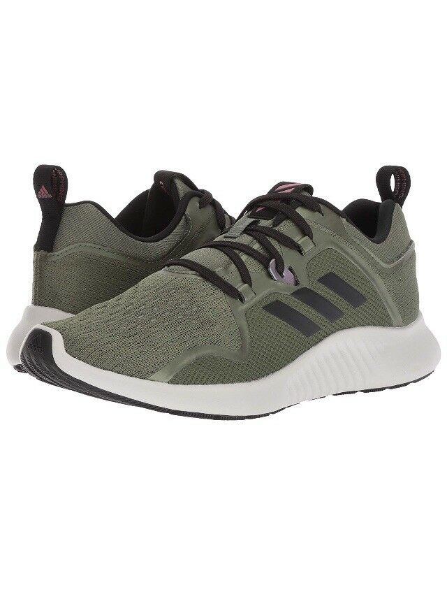 Women Adidas Edgebounce W Running/Athletic Shoes Sneaker Base Green/Black BB7561