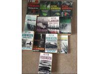 18 x Peter Robinson DCI Banks Books