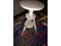 Vintage swivel stool reduced sale lamps living room table