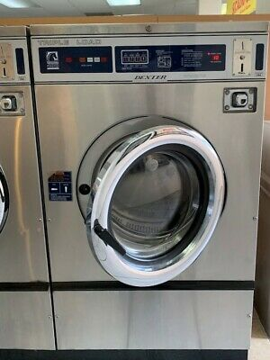Dexter Front Load Stainless Steel Washer 3ph 208-240v 60hz Sn 401214 Ref