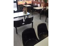 Canteen style table and seats plus one free- absolute bargain!