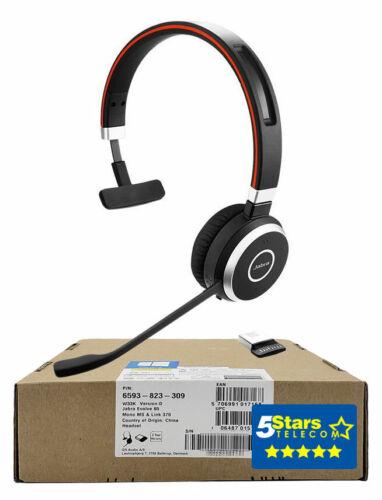 Jabra Evolve 65 MS Mono Wireless Headset (6593-823-309) Brand New, 1 Yr Warranty