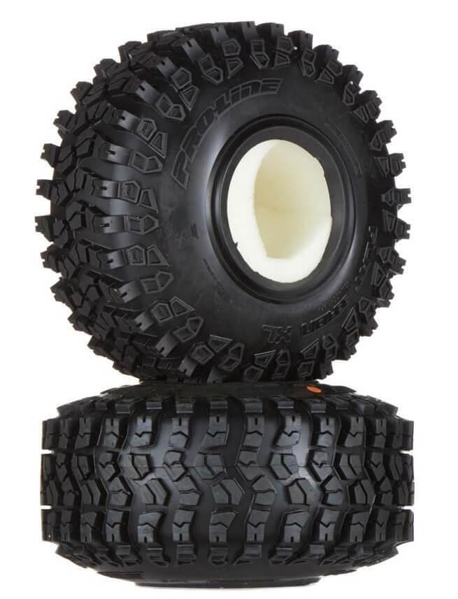 Flat Iron 1.9XL G8 Rock Terrain Truck Tire w/ Foam PROC1200