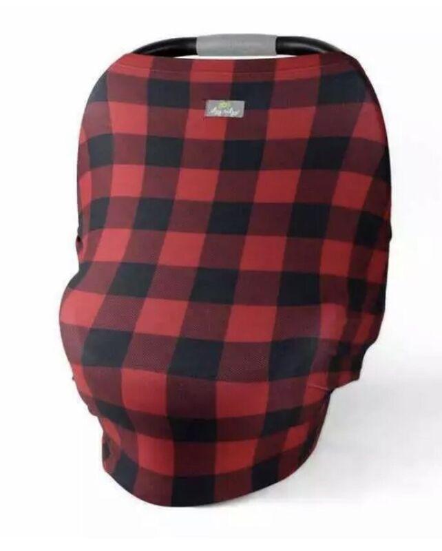 Itzy Ritzy Mom Boss 4-in-1 Multi Use Cover, BRAND NEW, Buffalo Check