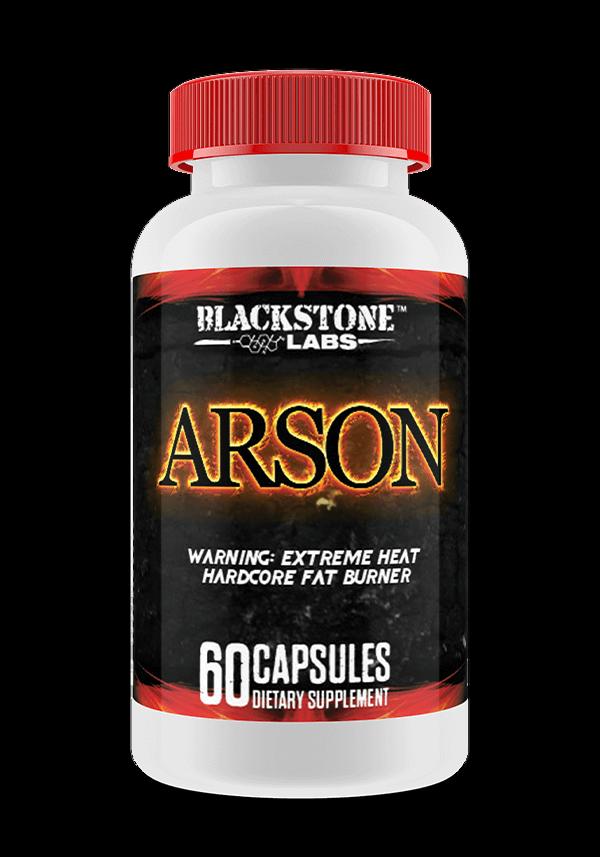 BLACKSTONE LABS ARSON Thermogenic Fat Burner Weight Loss NEW