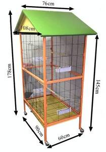 September budgie canary finch cage 178cm Riverwood Canterbury Area Preview