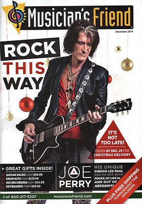 Joe Perry Aerosmith Interview Musicians Friend Catalog Orianthi Gear 2014