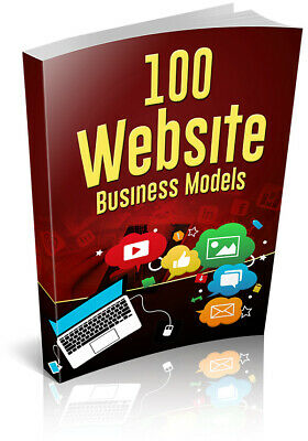 100 Website Business Models Ebook - Pdf With Resell Rights Fast Delivery