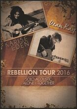 Dean Ray & Karise Eden: The Rebellion Tour Ipswich Ipswich City Preview