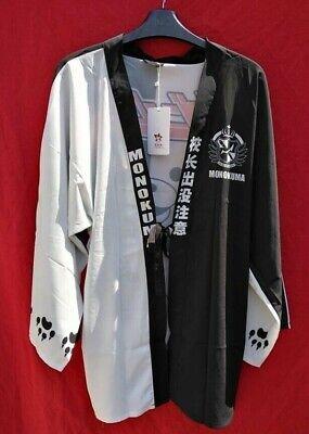 Japanese Kimono Style Monokuma Anime cover up robe! High Quality!