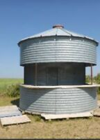 Grain Bin Bar rental