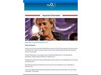 Rod Stewart 27/02/17 At O2