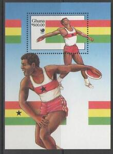 GHANA SGMS1270 1988 OLYMPIC GAMES MNH