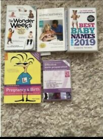 The wonder weeks, hypnobirthing, baby names & pregnancy books