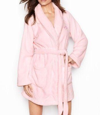 Gemütliche Plüsch (Victoria's Secret Gemütliche Plüsch Shorts Robe Pink About It Neu)
