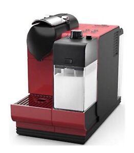 Delonghi Nespresso Lattissima + EN521.R Capsule Coffee Machine Red Genuine New