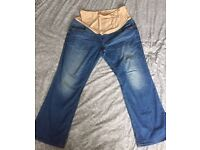 Maternity jeans size 20