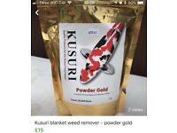 Blanket weed remover