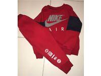 Boys Nike air max tracksuit