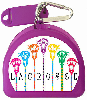 ZUMOE Mouth Guard Case for Lacrosse Players call 7 Standing