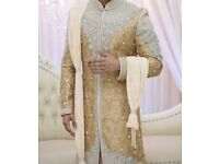 Grooms Asian suit