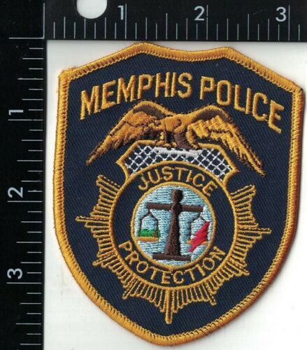 Memphis Police Justice and Protection Police Patch Tennessee TN