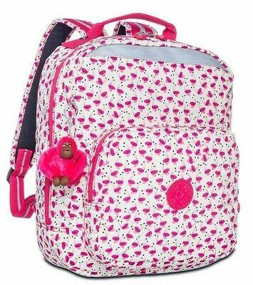 Kipling AVA Medium Backpack - Pink Wings