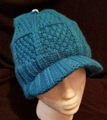 Columbia Womens Visor (New Columbia youth girls womens zippity do da visor Beanie hat cap teal XY0073)