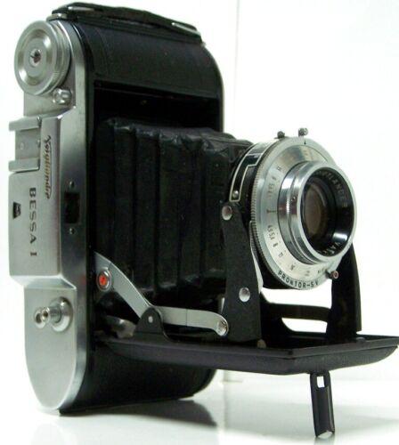 Vintage Bessa 1 Voightlander bellows 120 film Camera EX Condition 1951-56 RARE