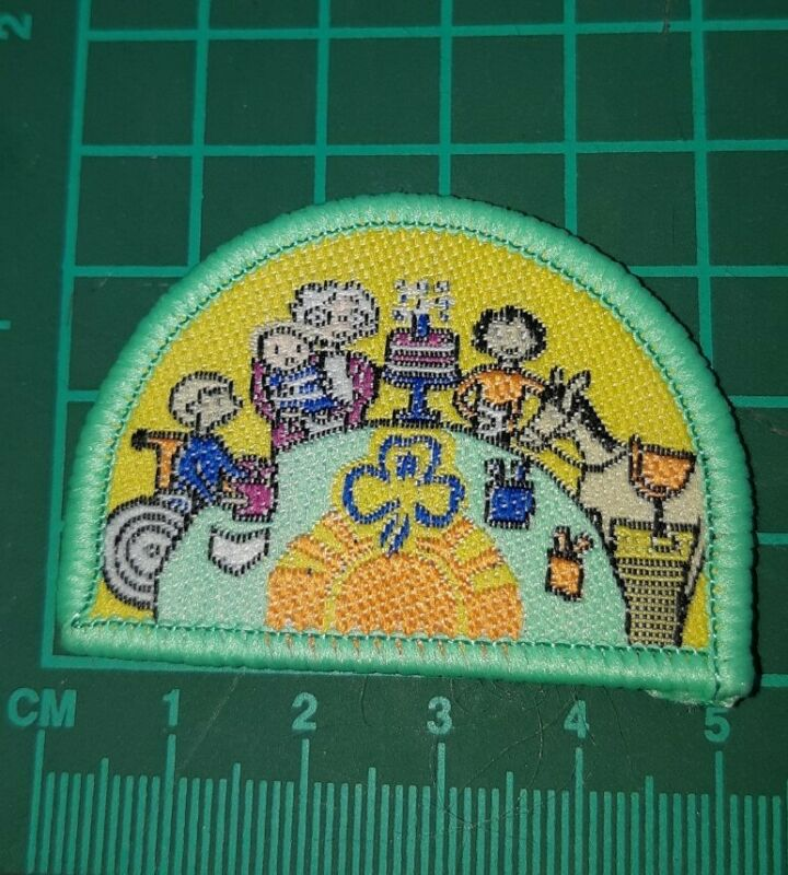 Girl Guides Australia Explore a Challenge Badge - Friendship (birthday)