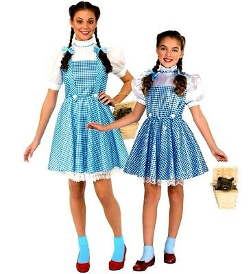 Official Wizard of Oz Deluxe DOROTHY Ladies Child Fancy Dress Costumes Book - Deluxe Fancy Dress Costumes