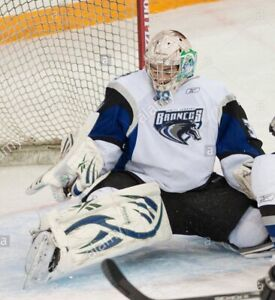 Wanted Swift Current Broncos Game Worn goalie jersey