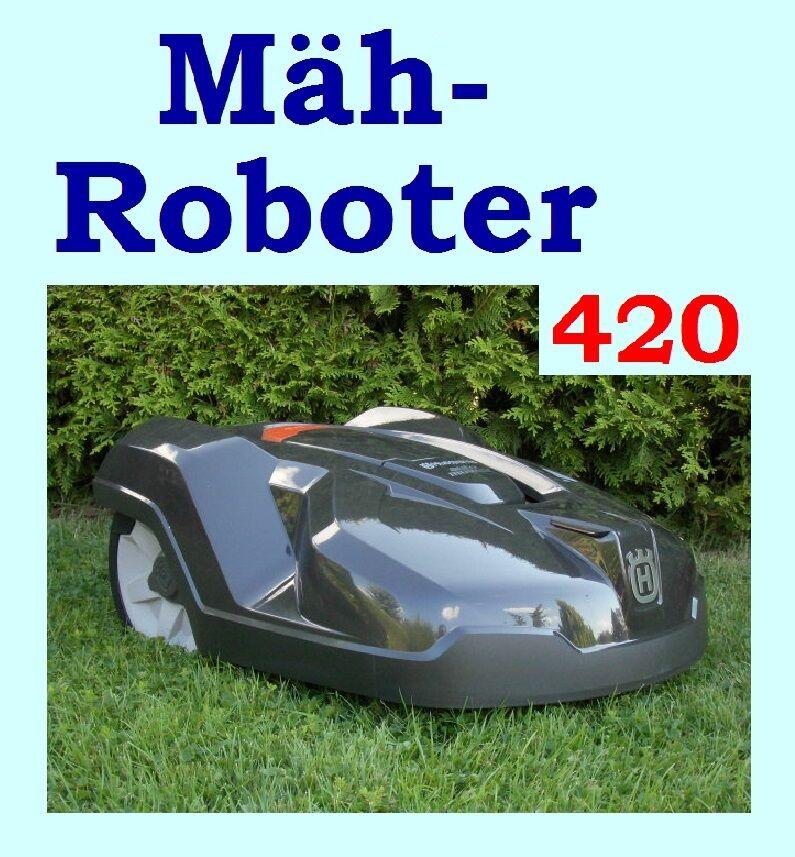 rasenroboter husqvarna automower 420 m hroboter neuware ellefeld. Black Bedroom Furniture Sets. Home Design Ideas