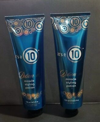 Its a 10 Miracle styling potion 4.5 oz. (Pack of 2 ) for sale  USA