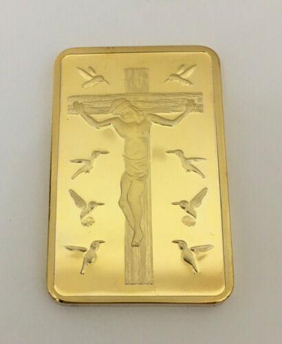 Jesus 10 Commandments Fake Gold Bar Replica
