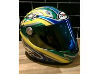 TROY BAYLISS signed helmet Ducati Honda