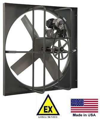 Exhaust Panel Fan - Explosion Proof - 36 - 115230v - 1 Phase - 9113 Cfm